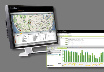 SunPower Monitoring System for Commerical Web Console